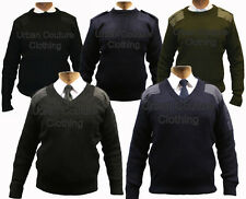 SECURITY ARMY POLICE MILITARY JUMPER BLACK NAVY OLIVE