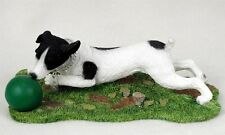 Jack Russell Terrier Statue Figurine Home & Garden Decor. Dog Products & Gifts.