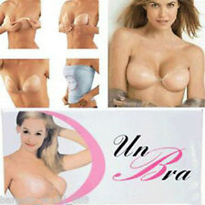 SILICONE STICK ON GEL BRA NUDE BACKLESS STRAPLESS SELF ADHESIVE CHICKEN FILLET