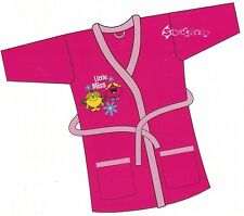Girls Mr Men Little Miss Dressing Gown Ages 1-5 Years