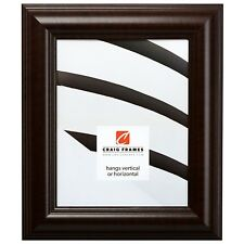 "Picture Frame Smooth Brazilian Walnut 2"" Wide Complete New Frame (88036)"