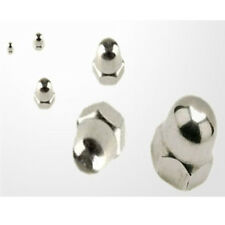 A2 Stainless Steel Hex Head Dome Head Nuts M3 M4 M5 M6 M8 M10 & M12 x 10 PACK