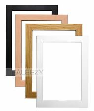 Wood Effect Photo Picture Frames Stand or Hang Various Sizes and Colours sd