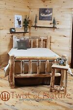 STANDARD LOG HEADBOARD  $149  -USA Handcrafted  Rustic- FREE SHIPPING!