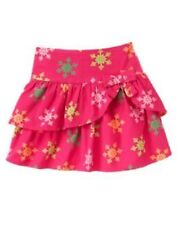 GYMBOREE CHEERY ALL THE WAY MAGENTA SNOWFLAKE CORDUROY SKORT 4 5 6 7 9 12 NWT