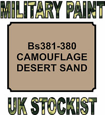 CAMOUFLAGE DESERT SAND MILITARY PAINT METAL STEEL HEAT RESISTANT ENGINE VEHICLE