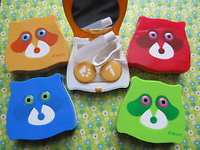 Spooky & Sleepless Big Eye Raccoon Contact Lens Case (4 colors)