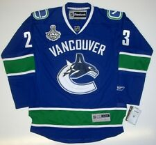 ALEXANDER EDLER VANCOUVER CANUCKS 2011 CUP JERSEY