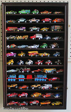 Hot Wheels Matchbox Car Display Case Cabinet Wall Rack, Kid-Safe Door -     HW04