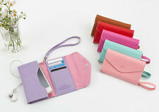 Ardium - Smart Fold Pouch - Trifold Cell Phone Wallet Holder Case w/ Card Slots