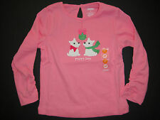 Gymboree NWT CHEERY ALL THE WAY Tee Top Shirt Puppy Love 2 2T 3 3T 4 4T 5 5T