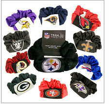 NFL Hair Twist Scrunchie Ponytail Holder Assorted-Teams CHOOSE YOURS