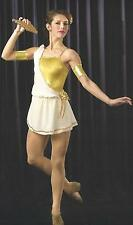 GODDESS Pan Midas Ballet Lyrical Ice Skating Dance Dress Costume CS,6X7,CM,CXL