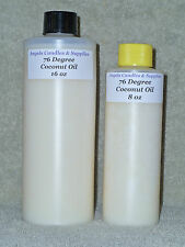 76 DEGREE COCONUT OIL FOR MAKING SOAP LOTION FAST FREE SHIPPING SAMPLE - GALLON