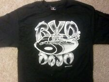 "Rob Van Dam ""Find Your Center of Balance"" Black T-Shirt RVD WWE ECW TNA"