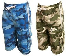 Boys Camouflage Water Swim Shorts Ages 2-13 Years