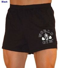 W601 World Gym Shorts Gorilla logo