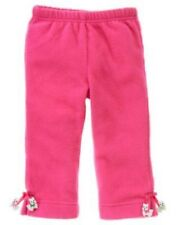 GYMBOREE CHEERY ALL THE WAY PINK DOG FLEECE PANTS 3 6 12 18 24 2T 3T 4T 5T  NWT