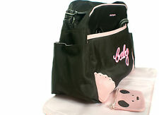 11 DIFFERENT STYLES OF BABY DIAPER NAPPY CHANGING BAG SETS / HAND BAGS (SOIGNE)