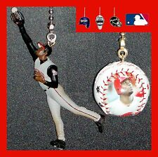 MLB CINCINNATI REDS KEN GRIFFEY JR. FIGURE & A PHOTO LOGO BASEBALL FAN PULLS