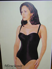 """MIRACLESUIT- BODY SHAPER NATURAL STRAPLESS MOULDED CUP """"LOOK 10LBS LIGHTER """" !"""