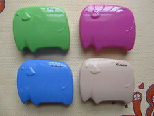 Shiny Elephant Shape Contact Lens Case (4 colors)