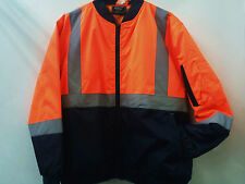 Hi Vis Safety Flying Jacket with 3M tape