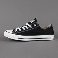 CONVERSE CHUCK TAYLOR ALL STAR OX BLACK M9166 LOW TOP UNISEX SELECT SIZE 3.5-12