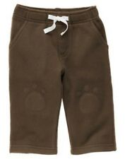 GYMBOREE STYLISH PUPPY BROWN KNEEPATCH KNIT PANTS 6 12 12 18 24 NWT