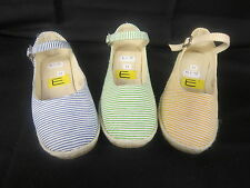 GIRLS STRIPED COLOURED CANVAS SHOES AVAILABLE IN 3 COLOURS