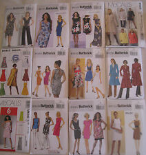 Misses Dress,Top,Pants,Jacket,Coat,Tunic Pattern~Buy 2,Get 3rd 1/2 off~You Pick