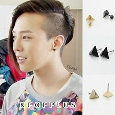 BIGBANG BIG BANG G-DRAGON - Triangle Black Hole Piercing, Earring [BB81A]