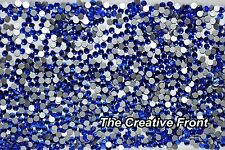 1440 CRYSTALS - FLAT FOILED BACKED - BLUE - NEW PACKAGED