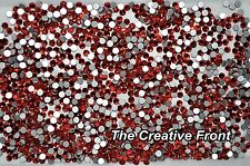 1440 CRYSTALS - FLAT FOILED BACKED - RED - NEW PACKAGED