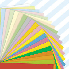 A4 Sheets Coloured Craft Printer Copier Paper 80gsm Stock Pack Plain