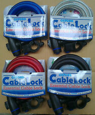 Oxford Of246 Cable Lock Bike Cycle Keyed Cable Lock