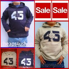 ※075※New = GAP Boys Thick Cotton Hoodie Sweater Sweatshirt Sz 5-8Yrs