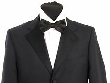MJ - 15. Mens navy blue dinner suit - formal - tuxedo - evening