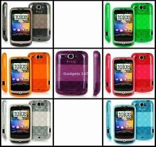 STYLISH SILICONE TPU GEL CASE COVER SKIN FOR HTC WILDFIRE G8.UK