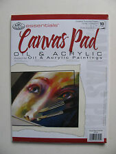 Royal & Langnickel Artist Pad Paper Canvas Oil Acrylic Watercolour Essentials