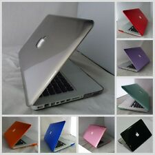 10 colors Crystal Hard Plastic Case Cover For Macbook Pro 13'' Laptop Shell