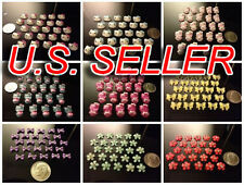 Nail Art Flatback 3D Resin Decorations Hello Kitty Designs and More - 25PCS