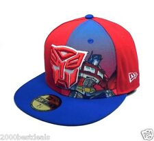 NEW ERA 59FIFTY CAP AUTOBOTS RED ROYAL PANEL SUB OFFICIAL CUSTOM FITTED 5950 HAT