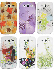 BLING & DESIGNER HARD BACK CASE COVER FOR SAMSUNG GALAXY S3 i9300 W/SCREEN GUARD