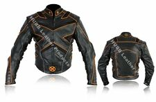 X MEN 2 Wolverine Motorbike Leather Jacket