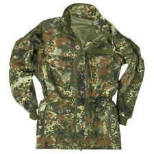 MILITARY COMBAT SMOCK SAS STYLE MENS JACKET WINDPROOF PARKA FLECKTARN CAMO S-3XL