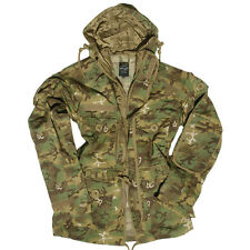MILITARY SMOCK COMBAT PARKA ARMY TACTICAL MENS JACKET HUNTING ARID WOODLAND CAMO
