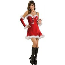 Sexy Santa Outfit Mrs Claus Costume Adult Womens Christmas Fancy Dress