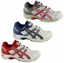 ASICS GEL ROCKET WOMENS PREMIUM CUSHIONED SPORT SHOES/SNEAKERS/NETBALL/TRAINERS