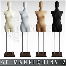 SIZE 10 FEMALE Mannequin with HEAD Retail Display Dummy Fashion Full Body Torso